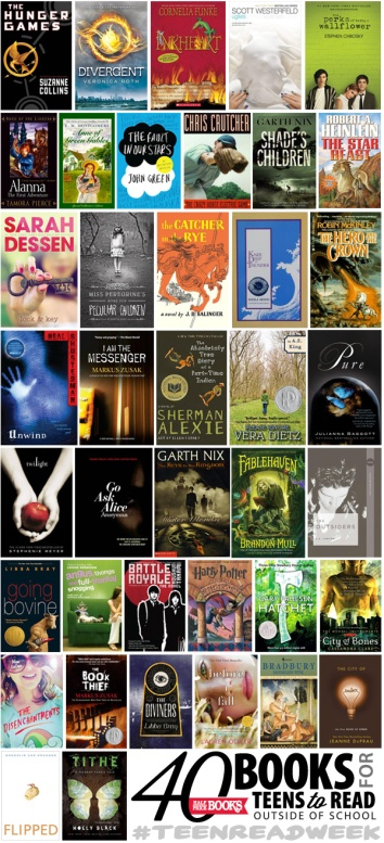40 Books For Teens To Read Outside Of School The Half Price Blog
