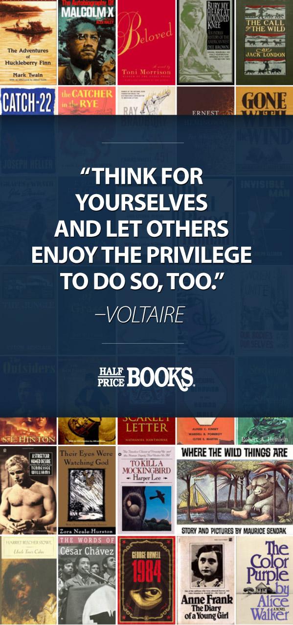 banned books the half price blog. Black Bedroom Furniture Sets. Home Design Ideas