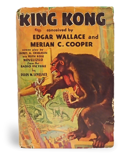 an examination of the book king kong by edgar wallace About king kong the original novelization of king kong, featuring a new introduction by jack thorne, the tony-winning playwright of king kong: alive on broadway, and cover art by the celebrated olly moss the giant primeval gorilla king kong is one of the most recognized images in our culture.
