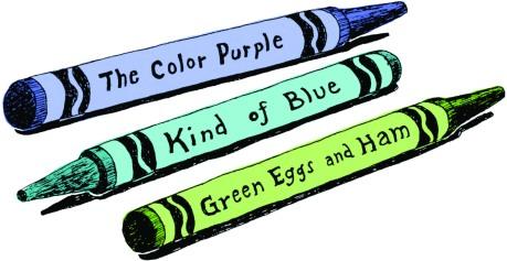 June Visual crayons