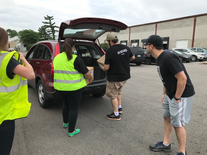 HPB Employees Load Donations 2