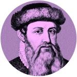 Gutenberg circle