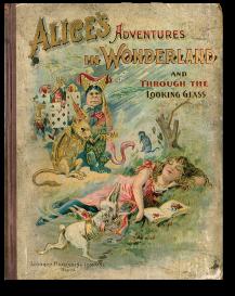 Alice vintage book