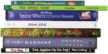 apple book stack