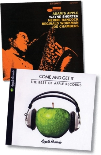 apple two LPs