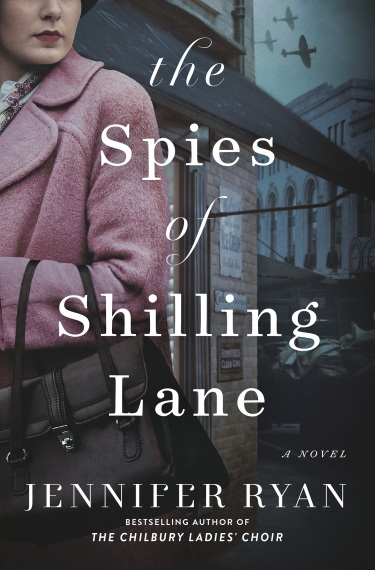 Spies of Shilling Lane Book Jacket